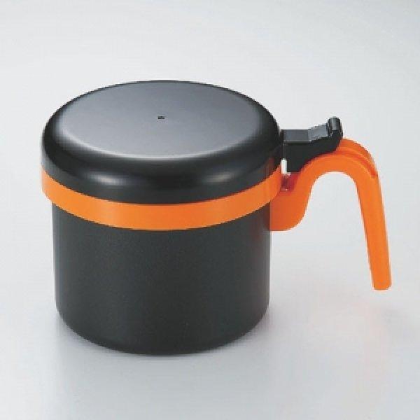 画像1: 活性炭フィルター付き そそぎ口きれい!オイルポット0.8L (1)